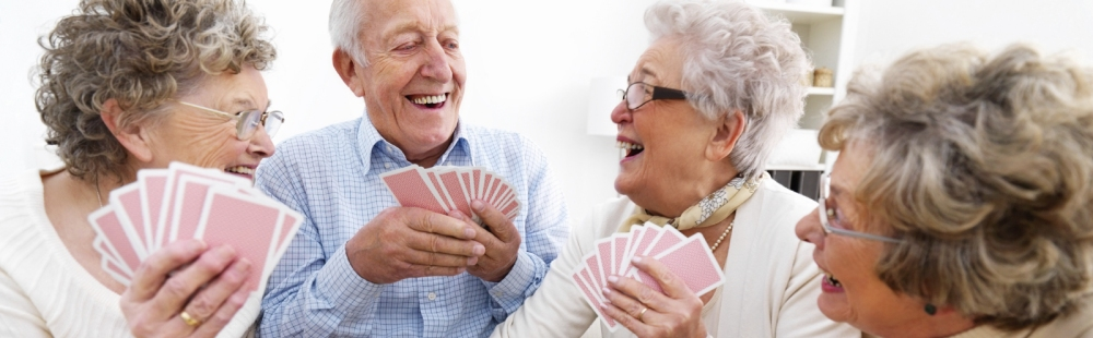 Oak Park Adult Day Care Playing Cards